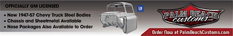 New steel body for chevy truck in Florida