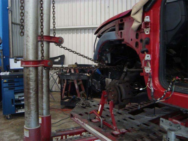 Truck repair and restoration in florida