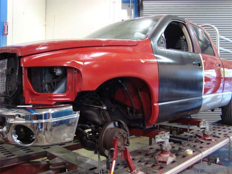 Collision repair and paint services in ft myers florida