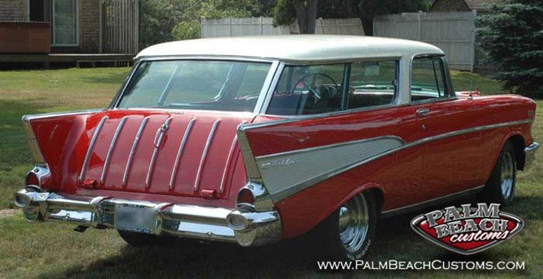 Full restoration of 1957 Chevrolet Nomad2