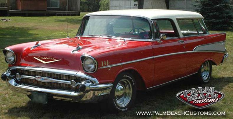 Full restoration of 1957 Chevrolet Nomad3