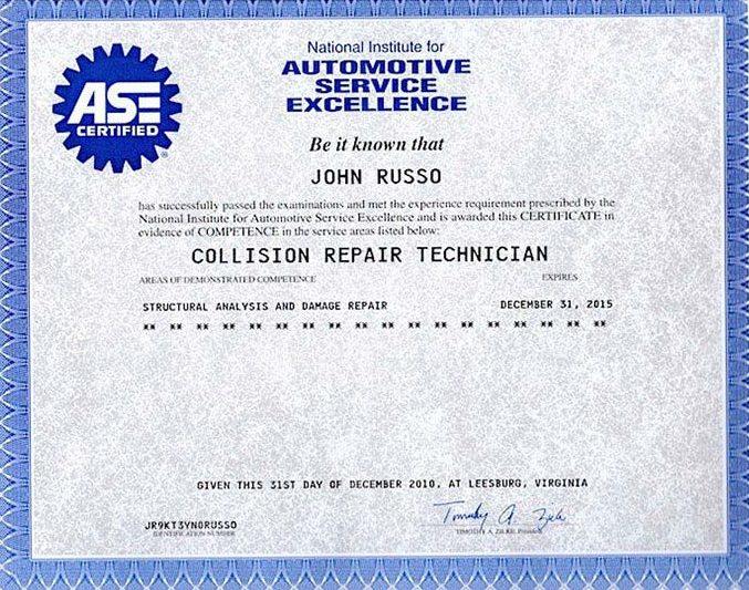 ASE Licensed Repair Shop in Florida