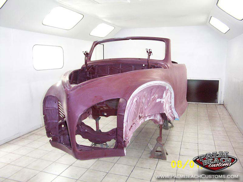 Full restoration of a 1941 Lincoln Zepher Lee County, Cape Coral, Fort Myers, Naples, SWFL.