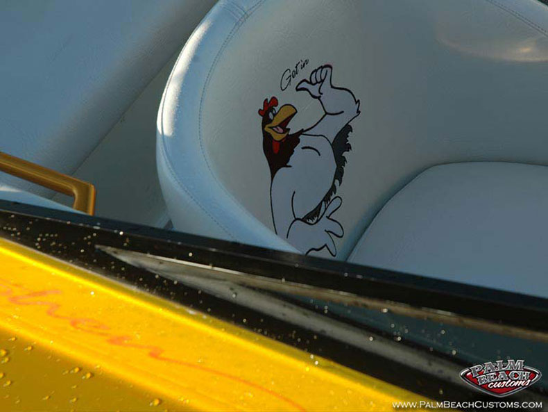 airbrush paint job for boats and trucks ft myers, lee county, cape coral, swfl