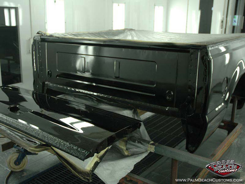 Ford F250 Truck, custom paint, deep black, Ft Myers, Naples, Cape Coral, SWFL