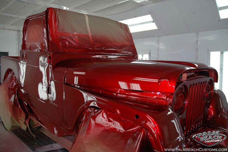 Jeep, custom paint, artwork, airbrush, Ft Myers, Palm Beach, Lee County, SWFL