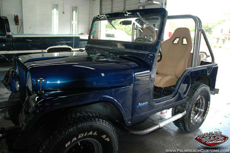 CJ-5 Jeep Restoration Paint And Spray on Bedliner