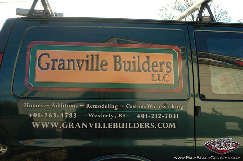 Company graphics, lettering, truck, design, paint, ft myers, swfl, lee county.