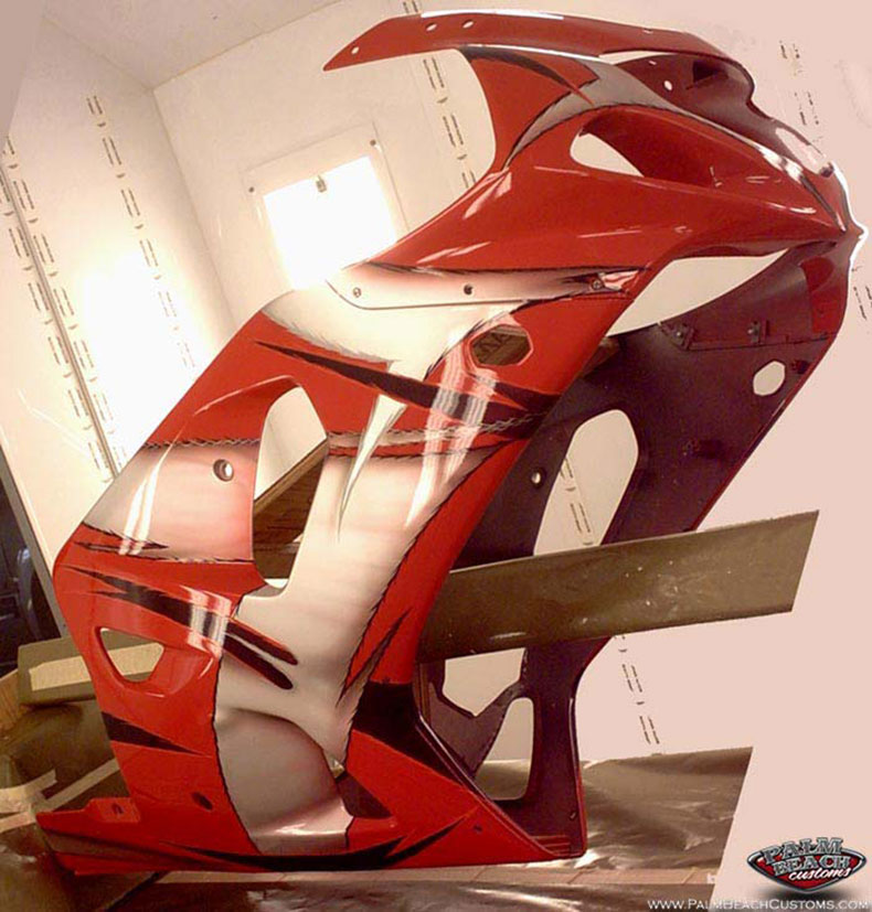 Speed bike, custom paint and artwork, Ft Myers, Le County, Cape Coral