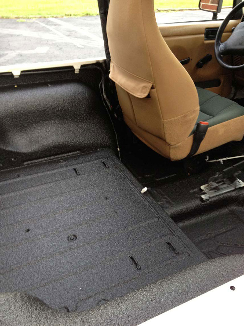 spray on bed liner services jeep 1