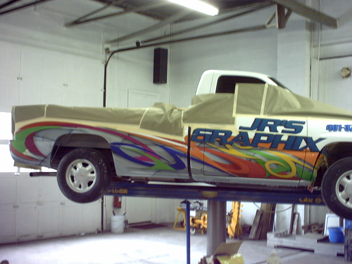 commercial business graphics with house of kolor custom paint 4