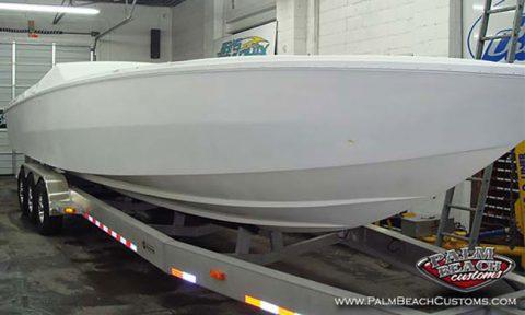 Boat Fiberglass Gelcoat And Refinishing