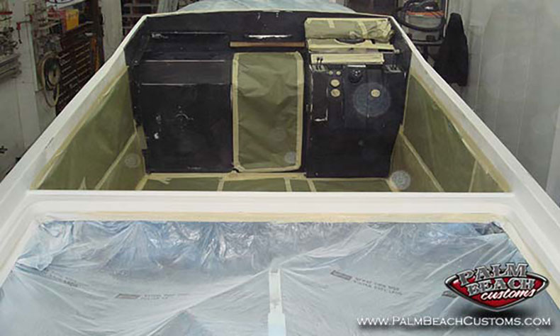 boat fiberglass gelcoat and refinishing 1
