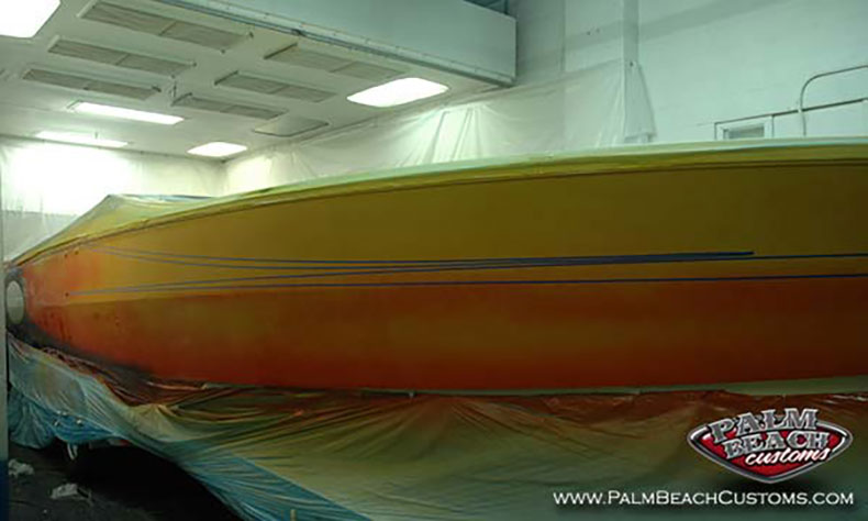 boat fiberglass gelcoat and refinishing 10