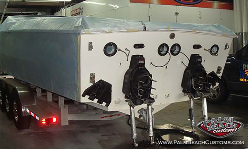 boat fiberglass gelcoat and refinishing 4