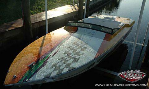 Boat Refinishing And Custom Graphics