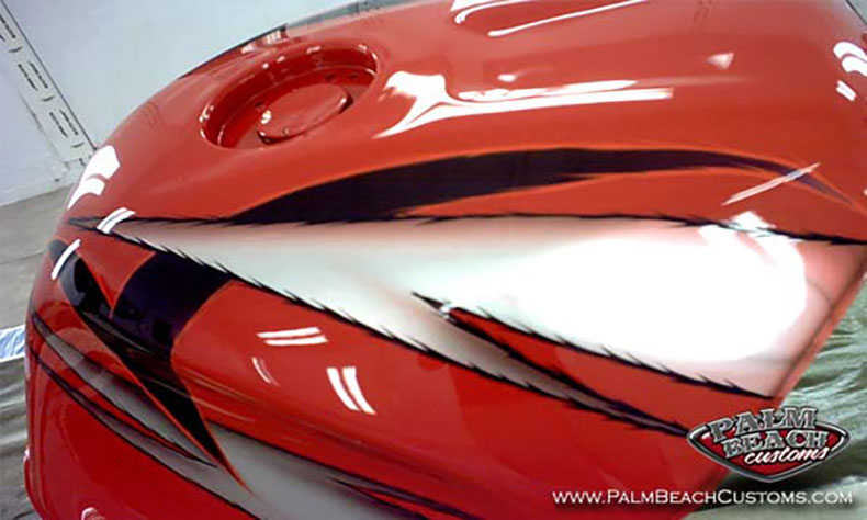 sport bike custom painting and graphics 3