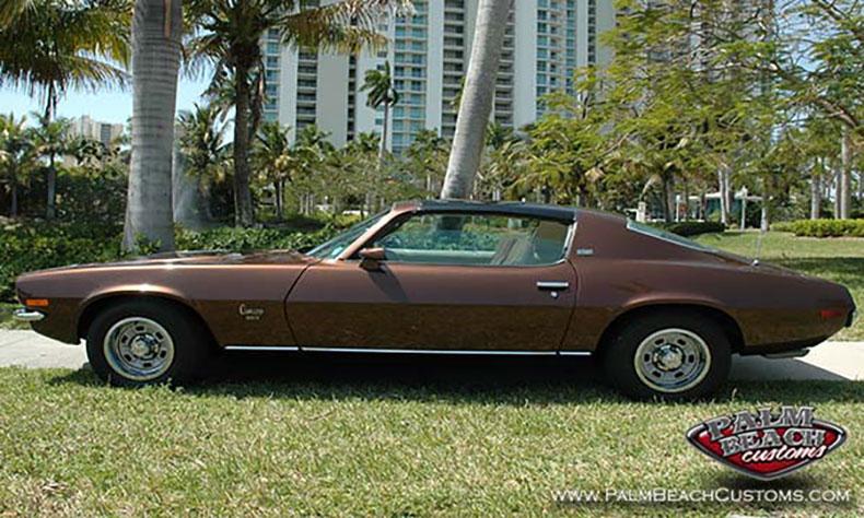 1973 Camaro auto restoration