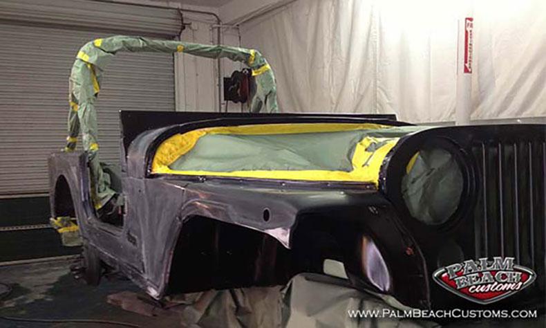 auto body shops CJ7 Jeep body