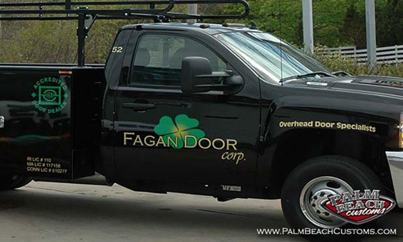 commercial fleet truck lettering packages gold lettering 1