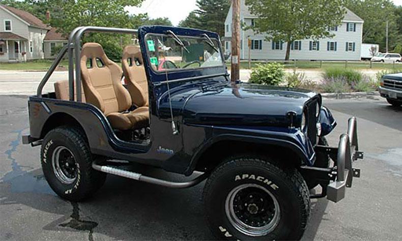jeep auto body restoration final product