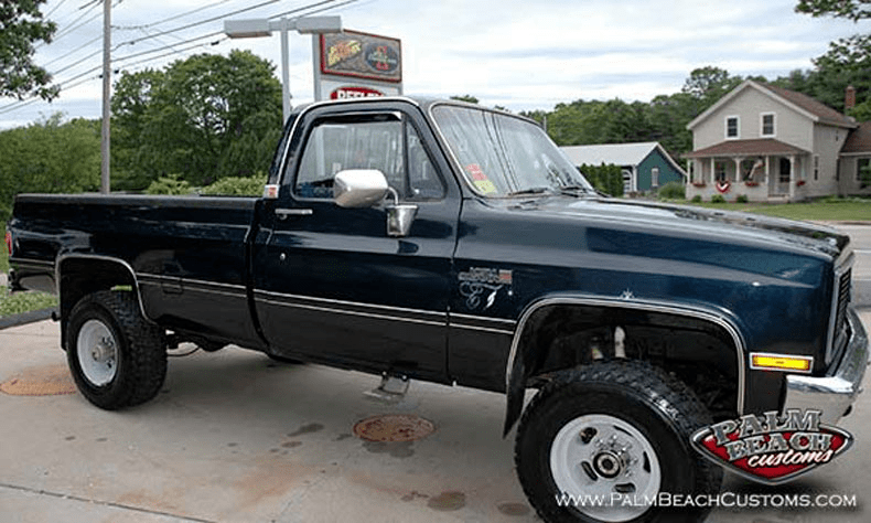 chevy truck restoration finished