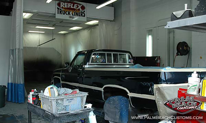 chevy truck restoration finish paint