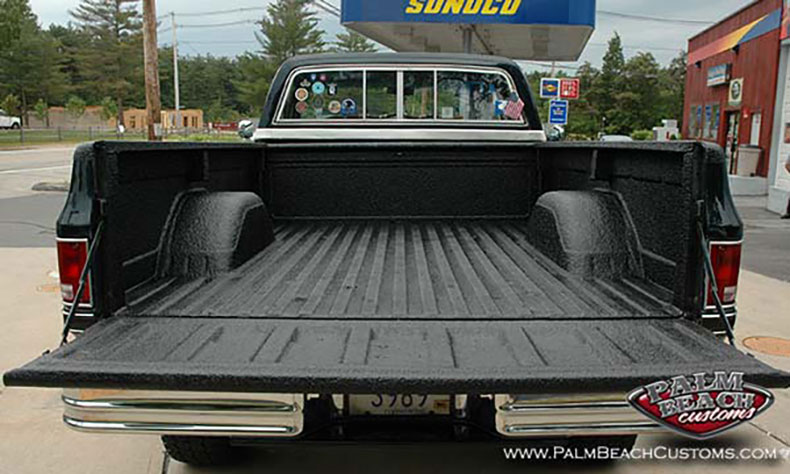 chevy truck restoration spray on bed liners