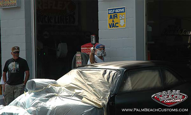 1970 muscle car SS nova 3 paint