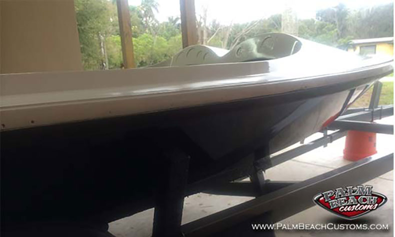 maltese magnum marauder boat black and white colors1