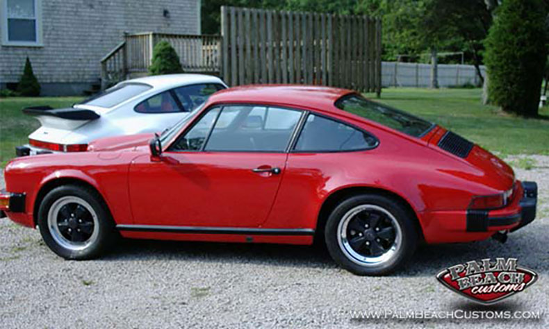 classic porsche restoration addition red 1983 911 sc 1