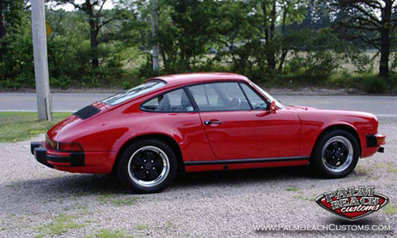 classic porsche restoration addition red 1983 911 sc