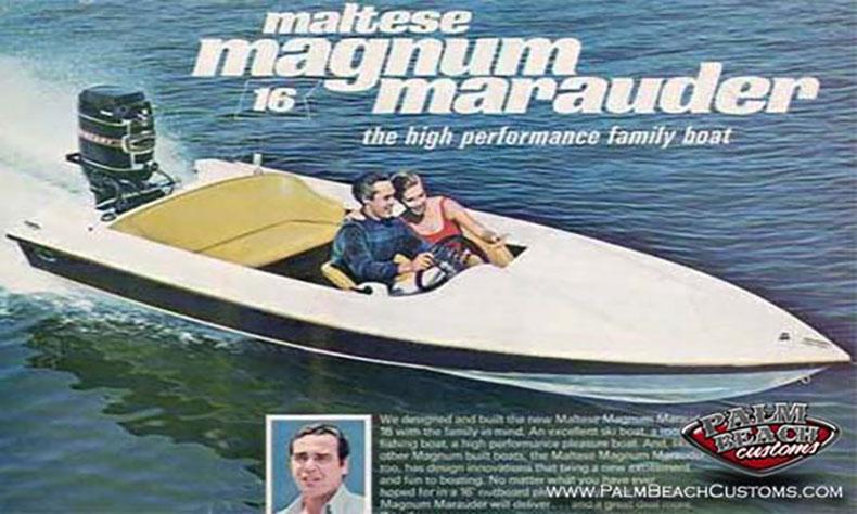 1969 Don Aronow Maltese Magnum Marauder Boat Restoration