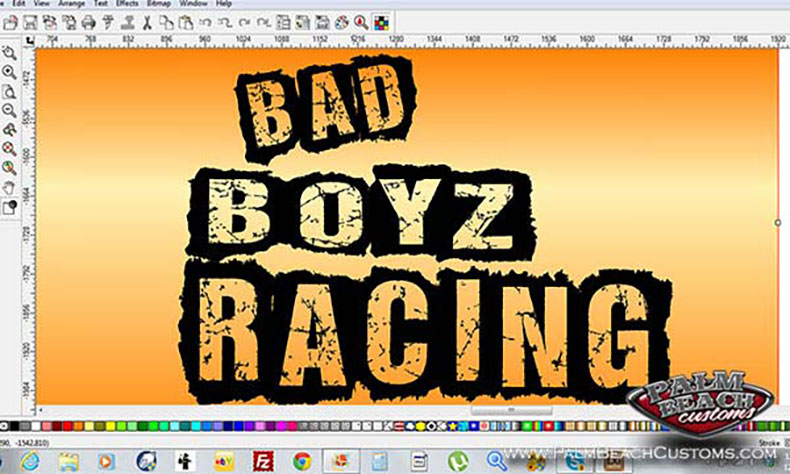 motor cross team new logo design bad boyz