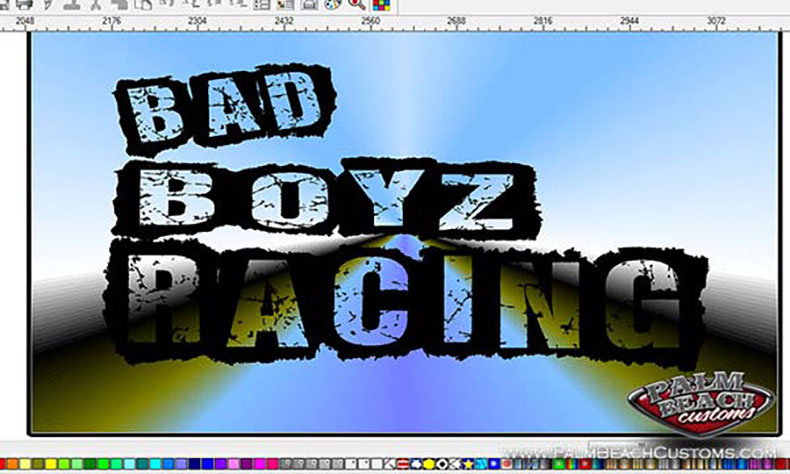 motor cross team new logo design black bad boyz