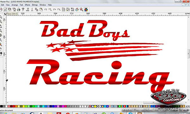 motor cross team new logo design candy red bad boyz