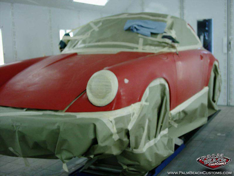 clasic porsche restoration body work paint ft myers lee country cape coral naples swft