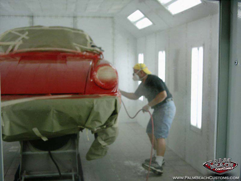 clasic porsche restoration body work paint ft myers lee country cape coral naples swft 1