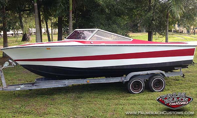 1976 Performer 233 292 Twin Screw Power Boat Restoration