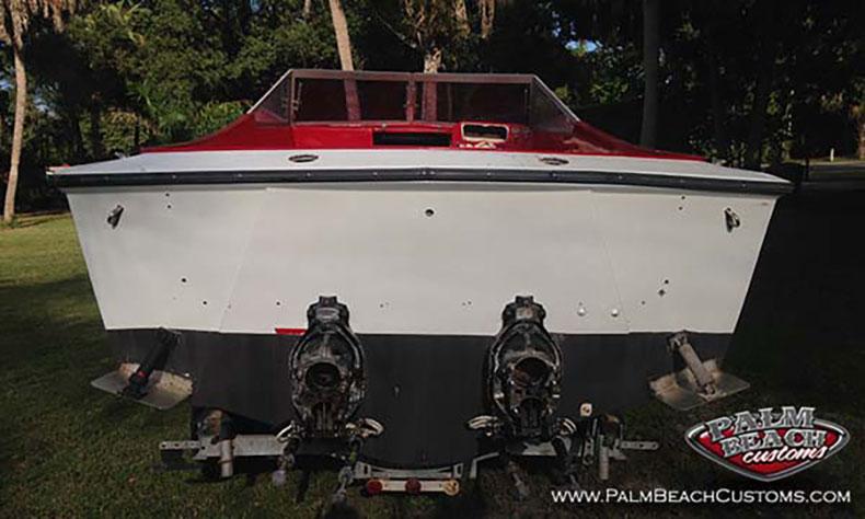 1976 performer 133 292 twin screw power boat restoration1