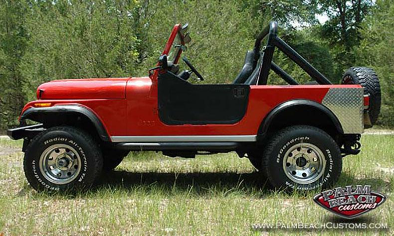 jeep cj7 restoration for sale