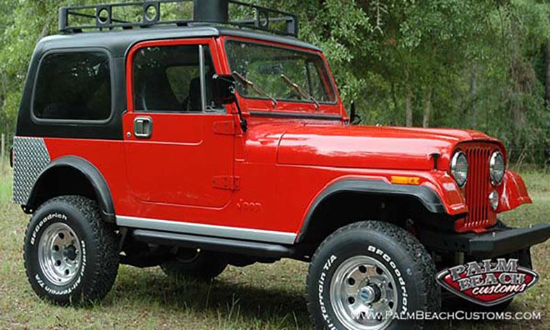 jeep cj7 restoration for sale1