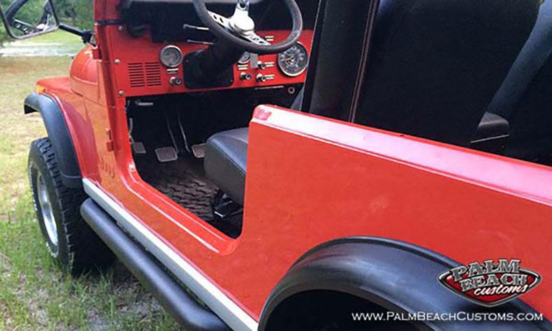 jeep cj7 restoration for sale 4