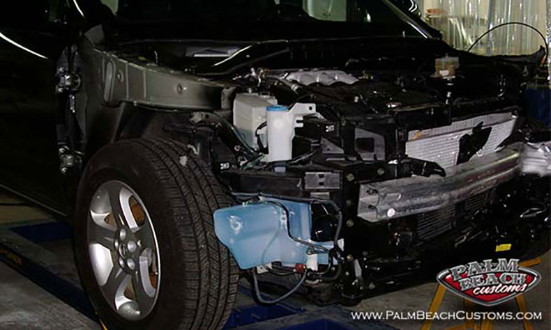 auto collision frame alignment