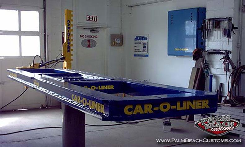 auto collision frame alignment car o liner