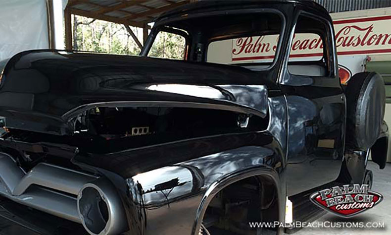 1955 ford pickup barn find 1