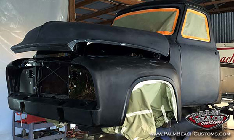 1955 ford pickup barn find 2