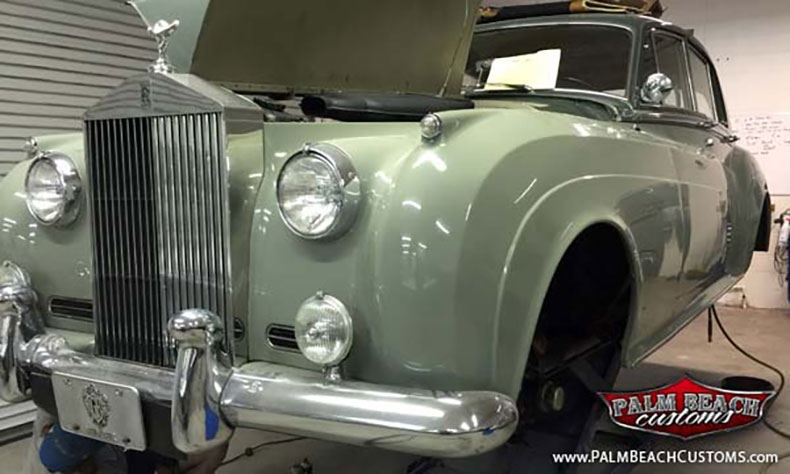 1961 rolls royce silver cloud build
