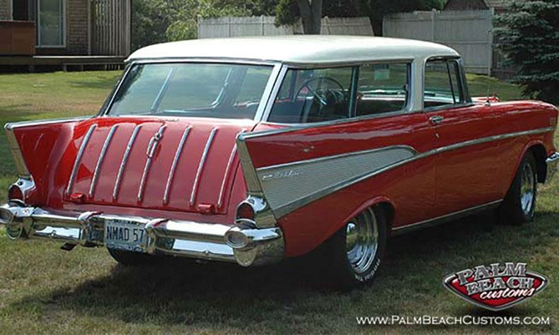 Featured Car: 1957 Nomad passenger side