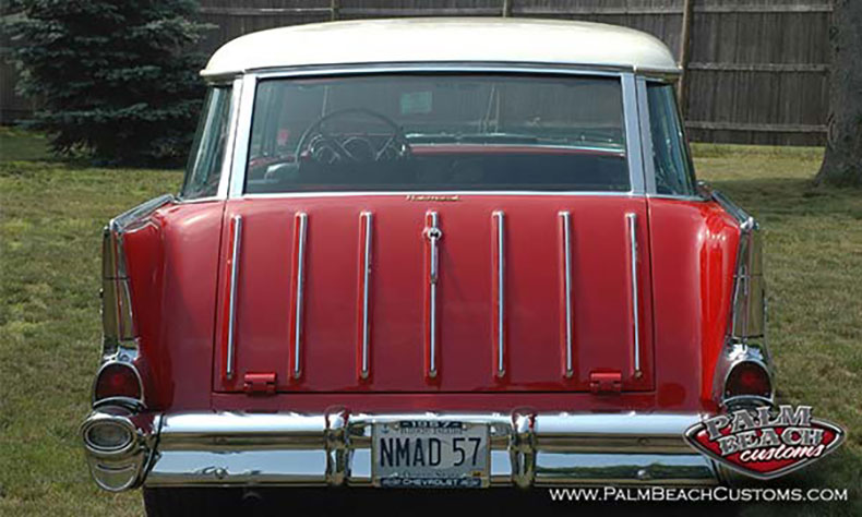 Featured Car: 1957 Nomad rear view